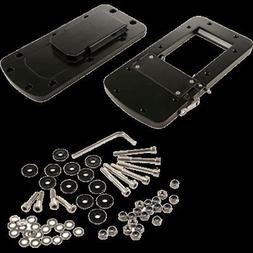 1 - Motorguide Quick Release Bracket - Aluminum Black