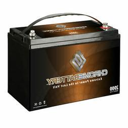 12V 110AH Group 30 Deep Cycle AGM Marine Battery for Trollin