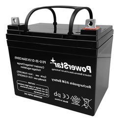 12V 35AH Light Trolling Motor Sealed Battery Sevylor Minn Ko