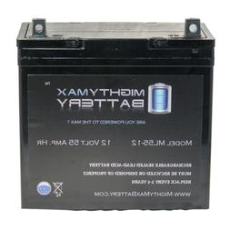 Mighty Max Battery 12V 55Ah Power Boat Pontoon Electric Trol