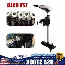 12V 65lb Electric Trolling Motor Outboard Engine Boat Motor