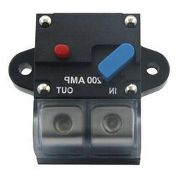 3X(12-24 Volt DC 200A Circuit Breaker Trolling Motor Auto Ca