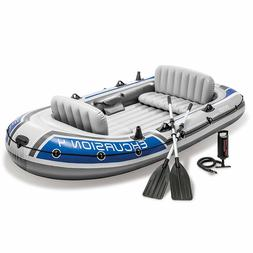 4-Person High Quality strength Marine Pro Inflatable Raft Fl