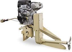 Beavertail 40 HP EFI Tall  Surface Drive Mud Motor