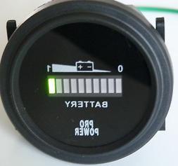 24 Volt Battery, meter, gauge forklift, solar sys, trolling