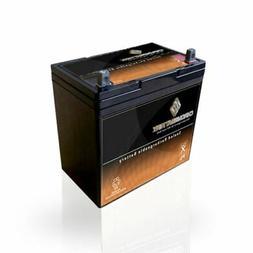 12V 55Ah AGM Battery for Solar Wind Deep Cycle