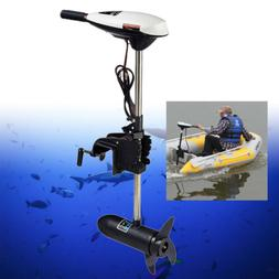 65 Lbs Outboard Motor Engine Inflatable Boat Electric Trolli