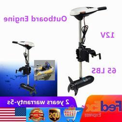 Hangkai 65LB 660W Heavy Duty Electric Boat Motor Outboard Tr