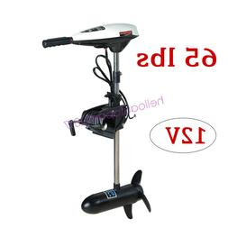 65lbs Heavy Duty Electric Trolling Motor Engine 12V Outboard
