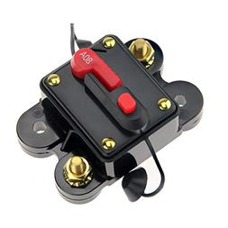 SEAMAX 80A Circuit Breaker with Manual Reset for 12V and 24V
