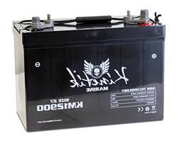 Adventure Power 12v 90ah Group 27 Battery for Minn-Kota 70 l