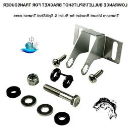 Lowrance Bullet/SplitShot Transom Mount Transducer Bracket 6