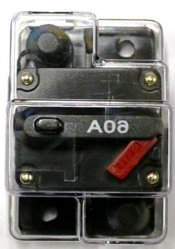 Caliber CB60 60amp Marine Grade Circuit Breaker 60a w/ Manua