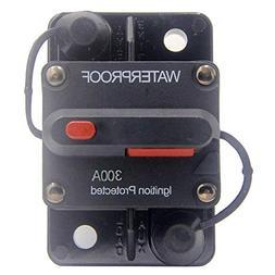 ANJOSHI 300 Amp Circuit Breaker 20A-300A Manual Reset Waterp