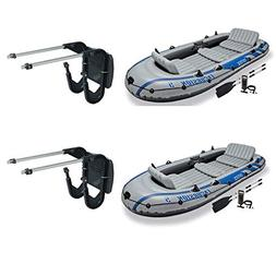 Intex Composite Support Boat Motor Mount Kit for Inflatable
