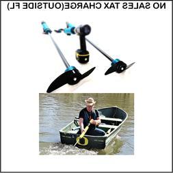 drill paddle boat handheld trolling motor kayak
