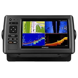 Garmin EchoMap 74SV HD-ID SideVu + Transducer + Bluechart Co