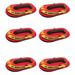 Intex Explorer 200 Inflatable 2 Person River Boat Raft Set w