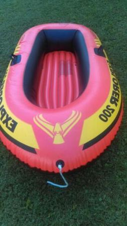 INTEX Explorer 200 Inflatable Two Person Raft Boat