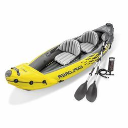 🔥Intex Explorer K2 Kayak 2-Person Inflatable Set with Oar