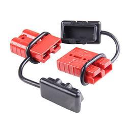 AURELIO TECH 6-10 Gauge Driver Battery Quick Connect Plug Ki