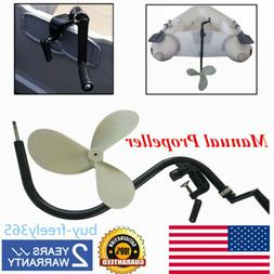 HAND OPERATED OUTBOARD MOTOR TROLLING MOTOR FOR INFLATABLE B