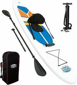 HydroForce White Cap Inflatable Stand Up Paddleboard SUP and