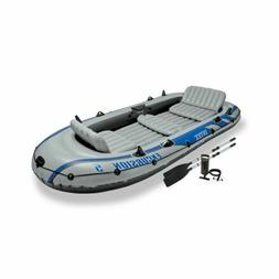 Inflatable Boat Canoe Sport Water Trip Travel Relaxing Picni