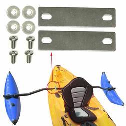 Kayak Bracket Mount Plates Trolling Motor Hardware Stabilize