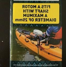 kayak motor mount for Watersnake Trolling Motor