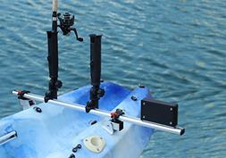 Brocraft Kayak Trolling Motor Mount Universal + Two Rocket L