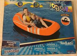Bestway Kondor 2000 Two Person River Boat Inflatable Raft Ov