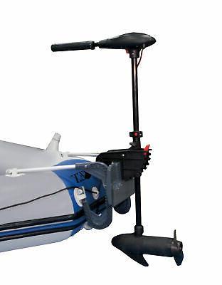 INTEX 12V Transom Mount Boat Eight Speed Trolling Motor | 68