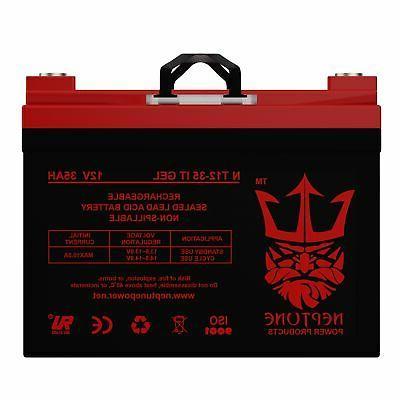 12v 35ah gel light trolling motor battery
