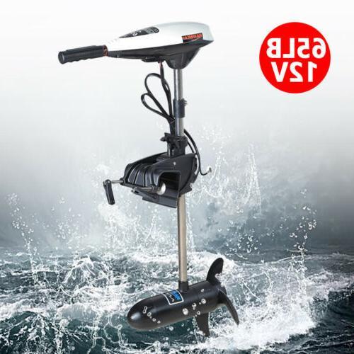 65lb Thrust Electric Trolling Motor 12V 660W Marine Boat Eng