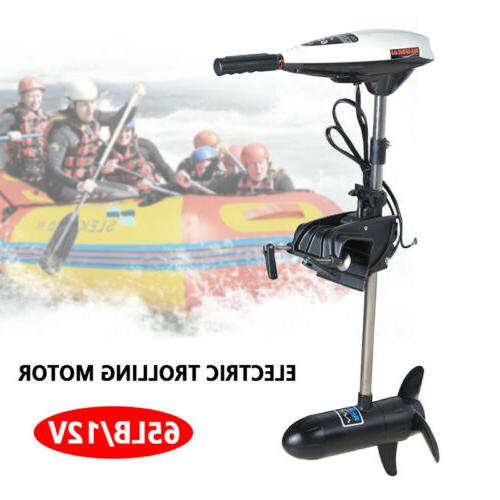 65LBS Heavy Duty Electric Trolling Motor Engine 12V For Outb