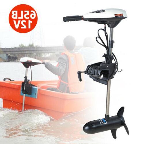 Electric 65lb 12V 660W Brush Thrust Trolling Motor Outboard