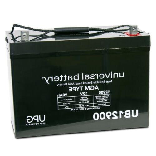 12v 90ah battery for group 27 premier