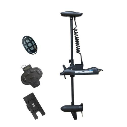 24v 80lbs 60 bow mount electric trolling