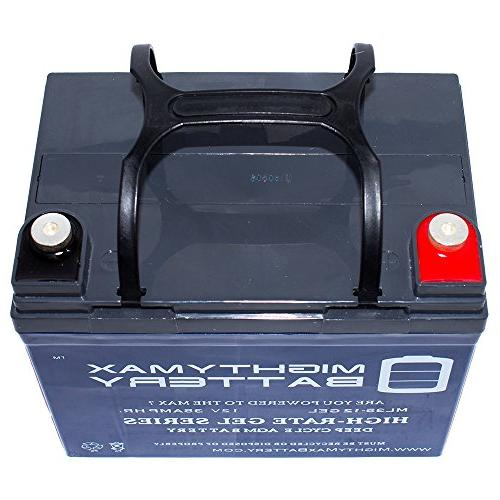 Mighty 35AH Battery Replacement for Motor Brand