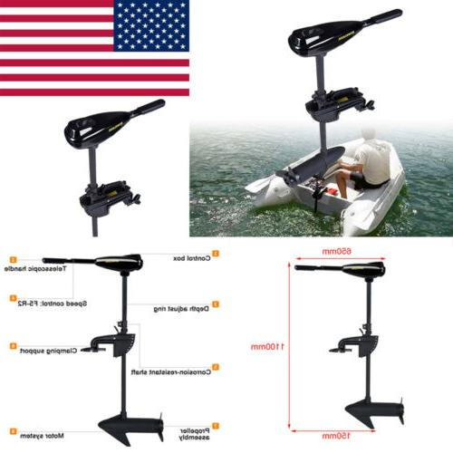 58LBS Trolling Transom Mount Fishing Ship