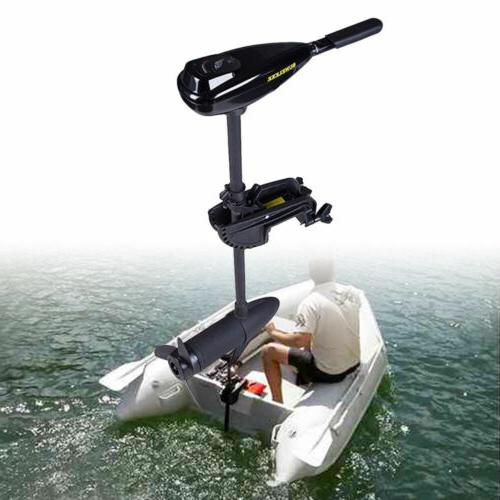 58LBS Electric Motor Transom Mount Boat Ship 12V