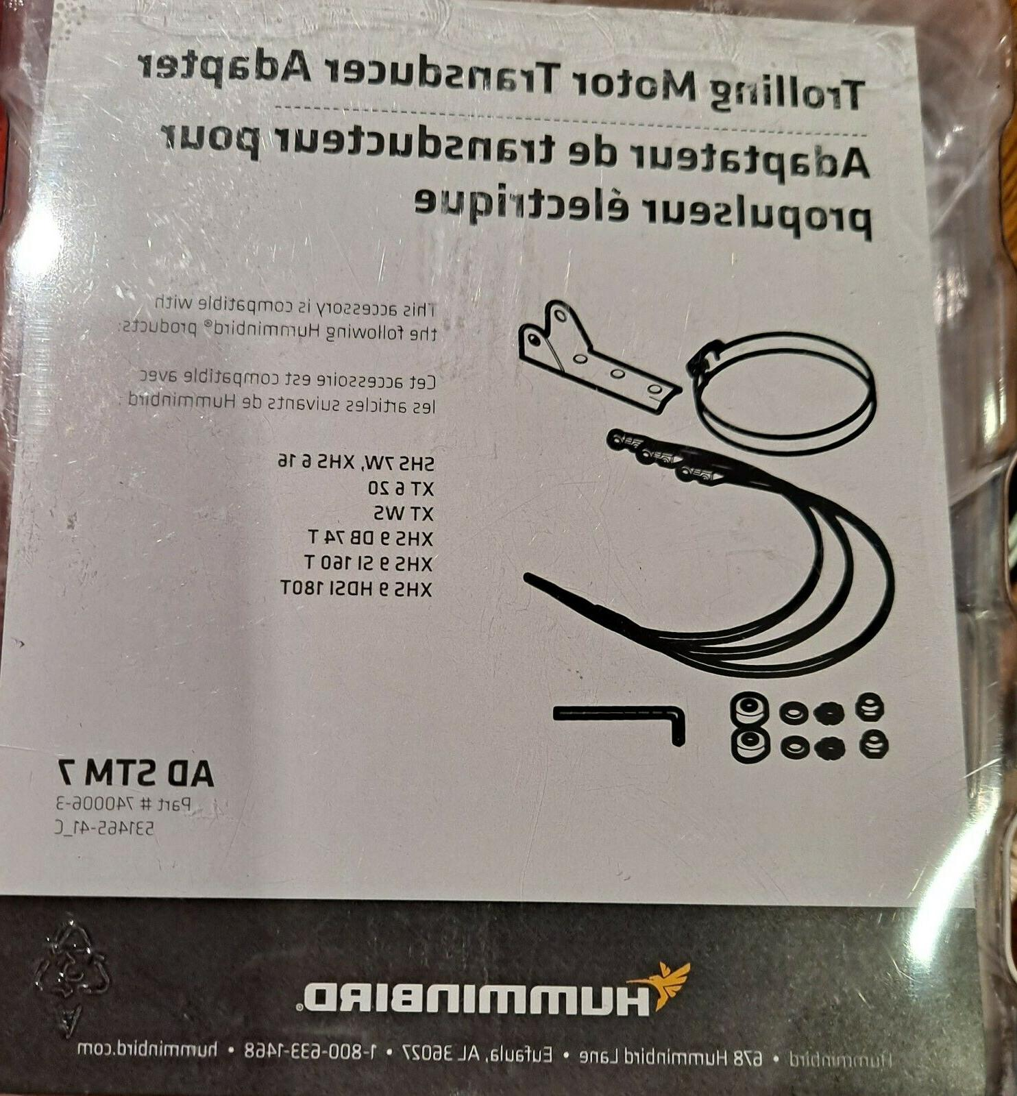 Humminbird AD STM 7 Trolling Motor Bracket f//SI /& Others 44013