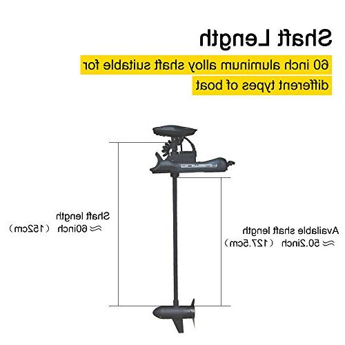 """Aquos 80LBS 60"""" Mount Portable, Bass Fishing and Saltwater Saving, Precise Operation"""