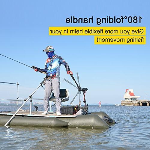 Aquos Haswing 85LBS Electric Motor Fishing, Use, Brushless