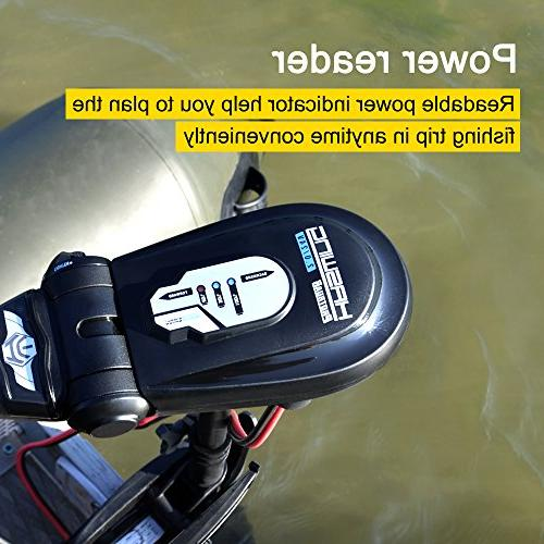 Aquos Haswing 85LBS Electric Trolling Motor Fishing, Saltwater and Freshwater