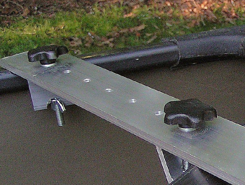 Canoe motor mount -