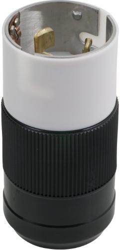 Marinco CS6365N 50 Amp, 125 Volt/250 Volt, Plug, Locking