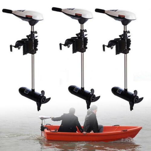 65LBS Boat Outboard Motor 12V w/ 40cm-Shaft Electric Motor