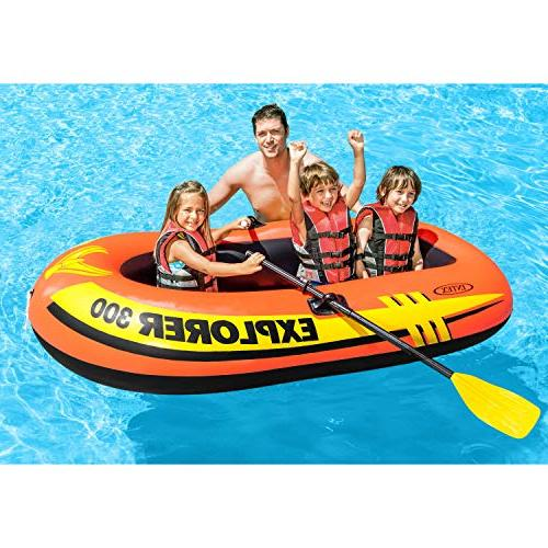 Intex Explorer 300, Inflatable Boat French Output Air